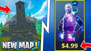 *ALL* Fortnite Update Leaks! | New Map Change, Galaxy Skin Starter Pack!