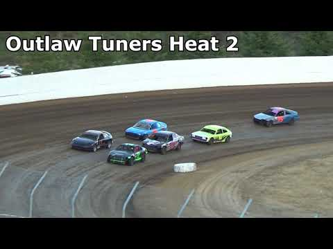 Grays Harbor Raceway, August 4, 2018, Outlaw Tuners Heat Races 1 and 2
