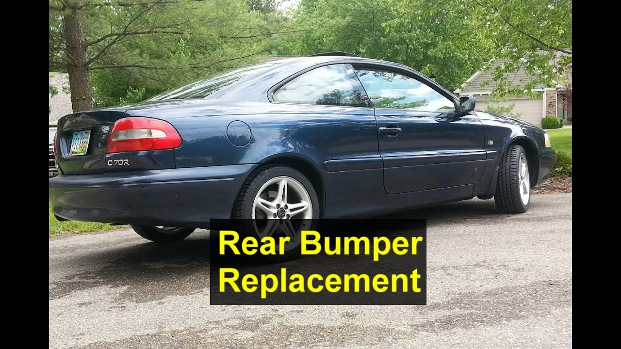 rear bumper removal for volvo c70 and others votd. Black Bedroom Furniture Sets. Home Design Ideas