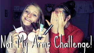 Not My Arms Challenge! ft. McKenna! :) Thumbnail