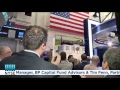 The NYSE Master Limited Partnership Program Rings the NYSE Closing Bell
