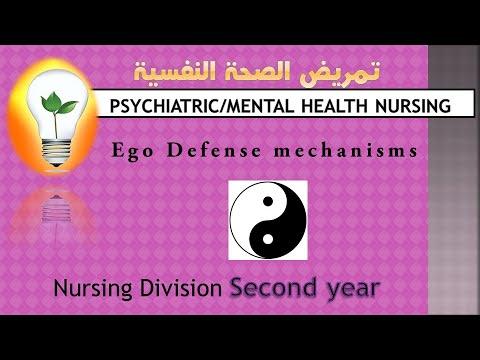 Psychiatric Health Nursing Ego Defense Mechanisms آليات الحيل