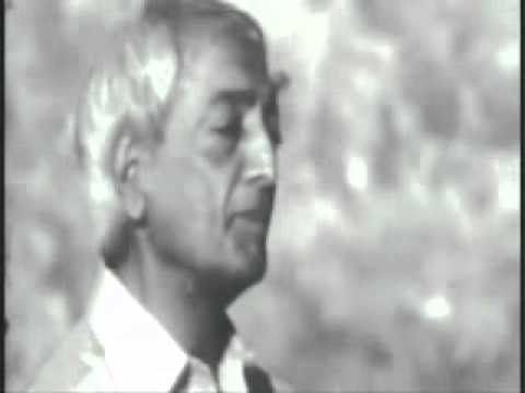 "Jiddu Krishnamurti -- You have to be a ""light"" for Yourself"