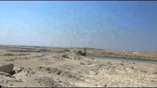 New Suez Canal scene in March 22, 2015