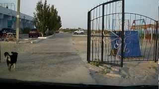 24/08/2012 Сергеевка, проезд через мост.