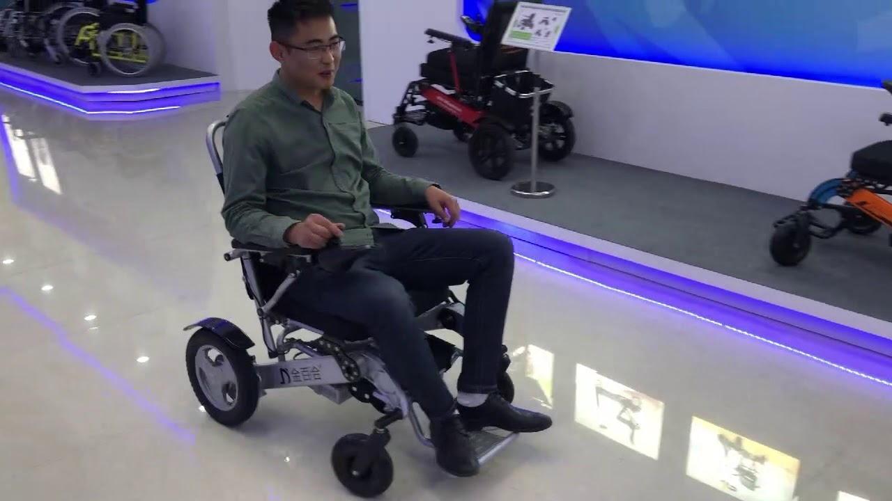 Zinger Wheelchair Test