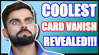 WORLD&#39S COOLESTCLEANEST CARD VANISH EVER REVEALED IN HINDI  MrIndian Magician
