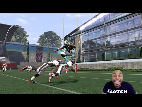 Can Cam Newton Hurdle Over TWO Defenders and then Score a 99yd Touchdown Run?? Madden 17 Gameplay