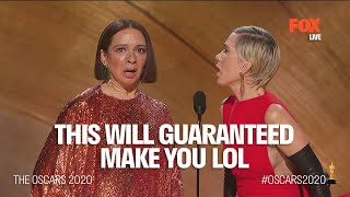 The Oscars 2020 | Funniest part of the entire night: Kristen Wiig and Maya Rudolph | FOX