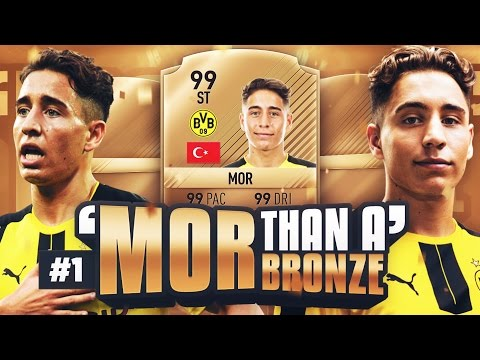 **NEW SERIES** MOR THAN A BRONZE #EP1 - FIFA 17 ULTIMATE TEAM