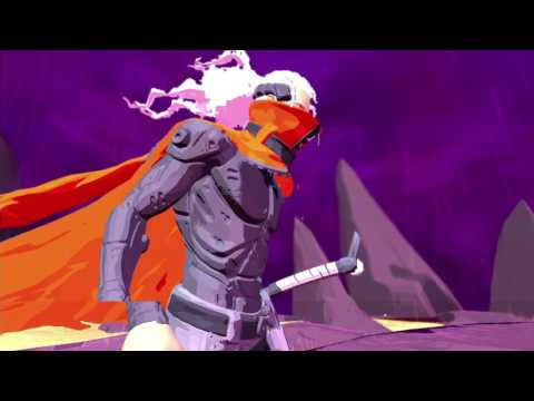 Furi playthrough pt1 – Multi-Faced Men and Giant Purple Rabbits? WTF!