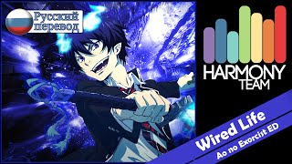 [Ao no Exorcist RUS cover] j.am – Wired Life (TV-size) [Harmony Team]