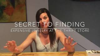 Valuable Thrift Store Jewelry Finds