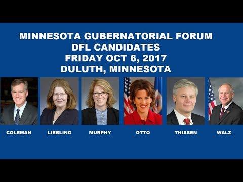 AFSCME Gubernatorial Forum in Duluth, MN