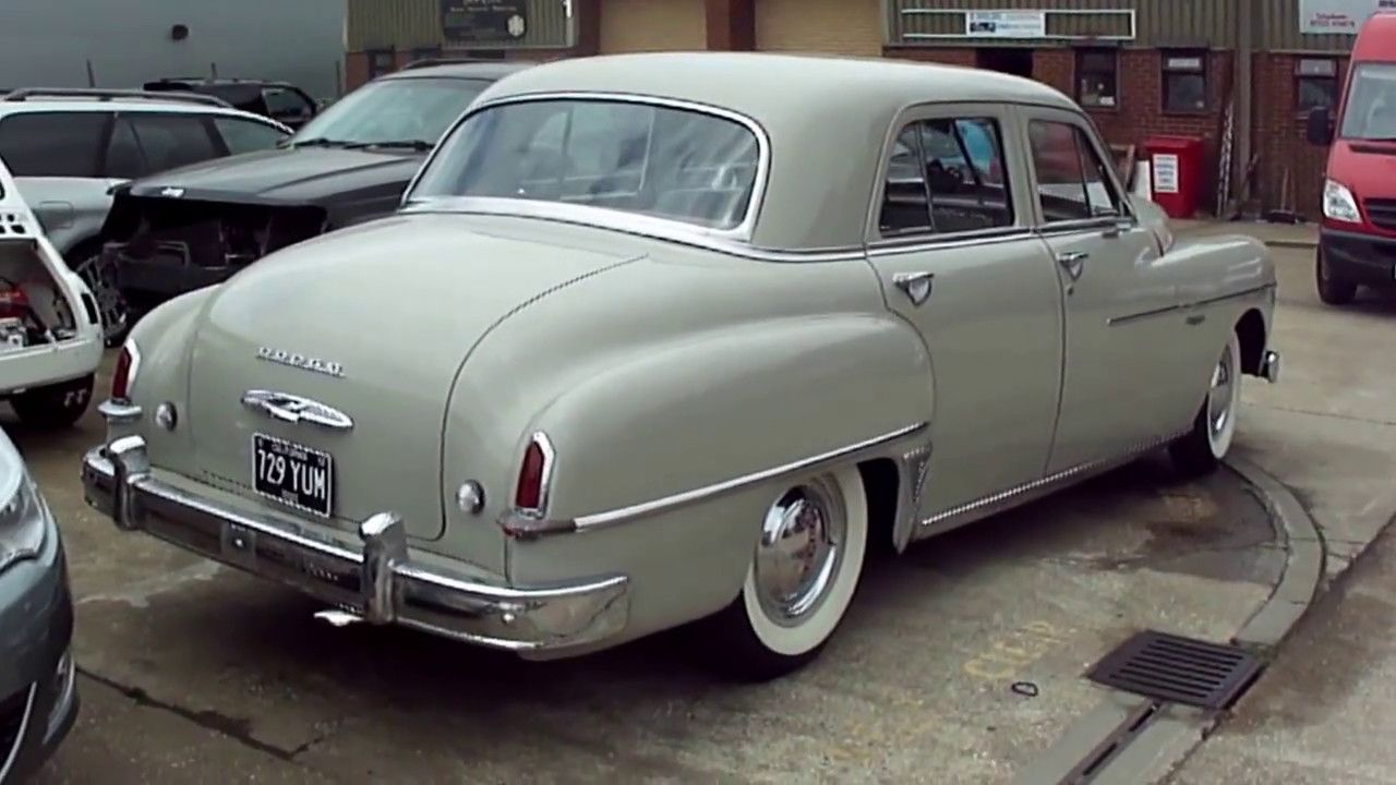 Dodge Coronet 1950 Youtube To 1955 Plymouth Cars
