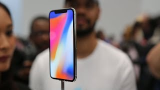 Apple iPhone X first look