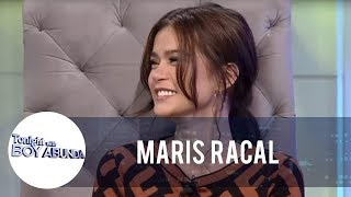 TWBA: Maris Racal is happy about Iñigo Pascual being not being in a hurry with their relationship