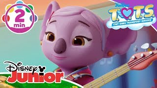 T.O.T.S. | K.C's Lullabye Music Video 🎶 | Disney Junior UK