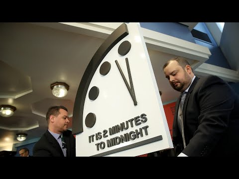 Doomsday Clock moved to two minutes to midnight