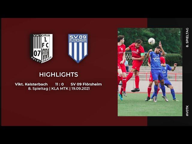 Viktoria Kelsterbach - SV 09 Flörsheim   8. Spieltag   Highlights + Interviews   19.09.2021