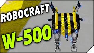 ROBOCRAFT ➤ W -500 (ЦПУ) # 309