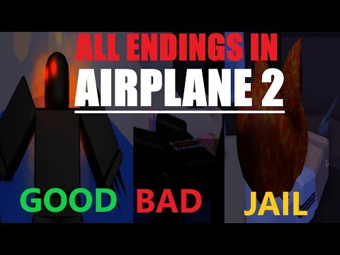 Roblox Airplane Story Endings - All 3 Endings In Airplane 2 Roblox Secret Games