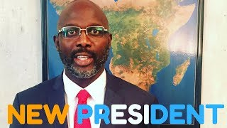 George Weah ashinda kiti cha Urais  nchini Liberia