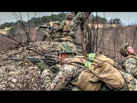 U.S. Marines Rush Assault & Static Assault