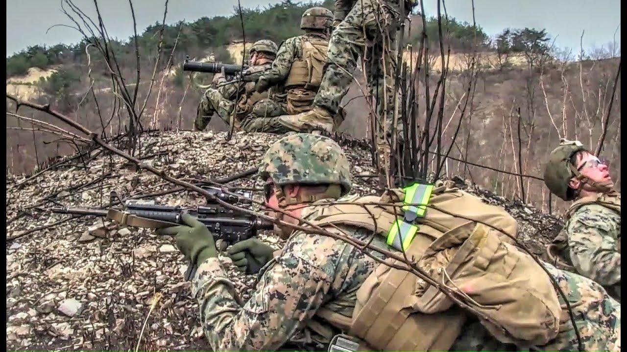 U.S. Marines Rush Assault & Static Assault