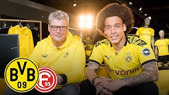 Your best jersey swap? | Axel Witsel joins Matchday Magazine | BVB - Fortuna Düsseldorf