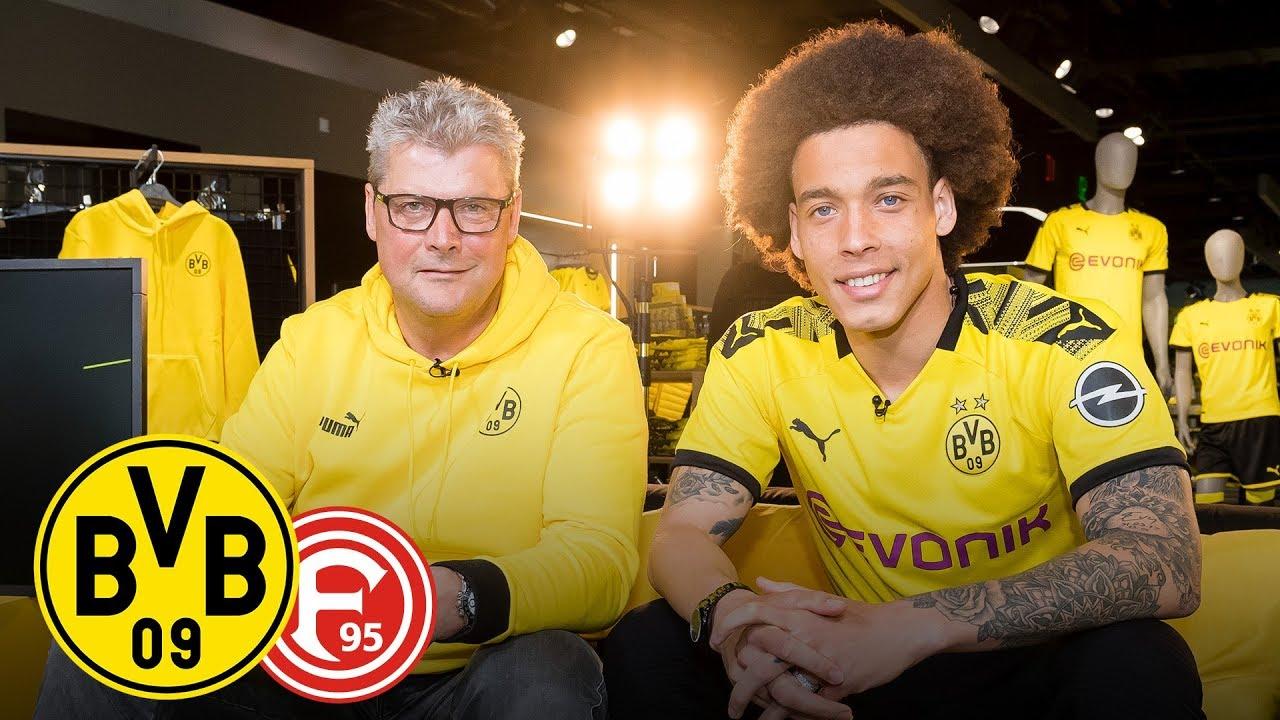 Dein bester Trikottausch? | Axel Witsel im Feiertagsmagazin | BVB - Fortuna Düsseldorf