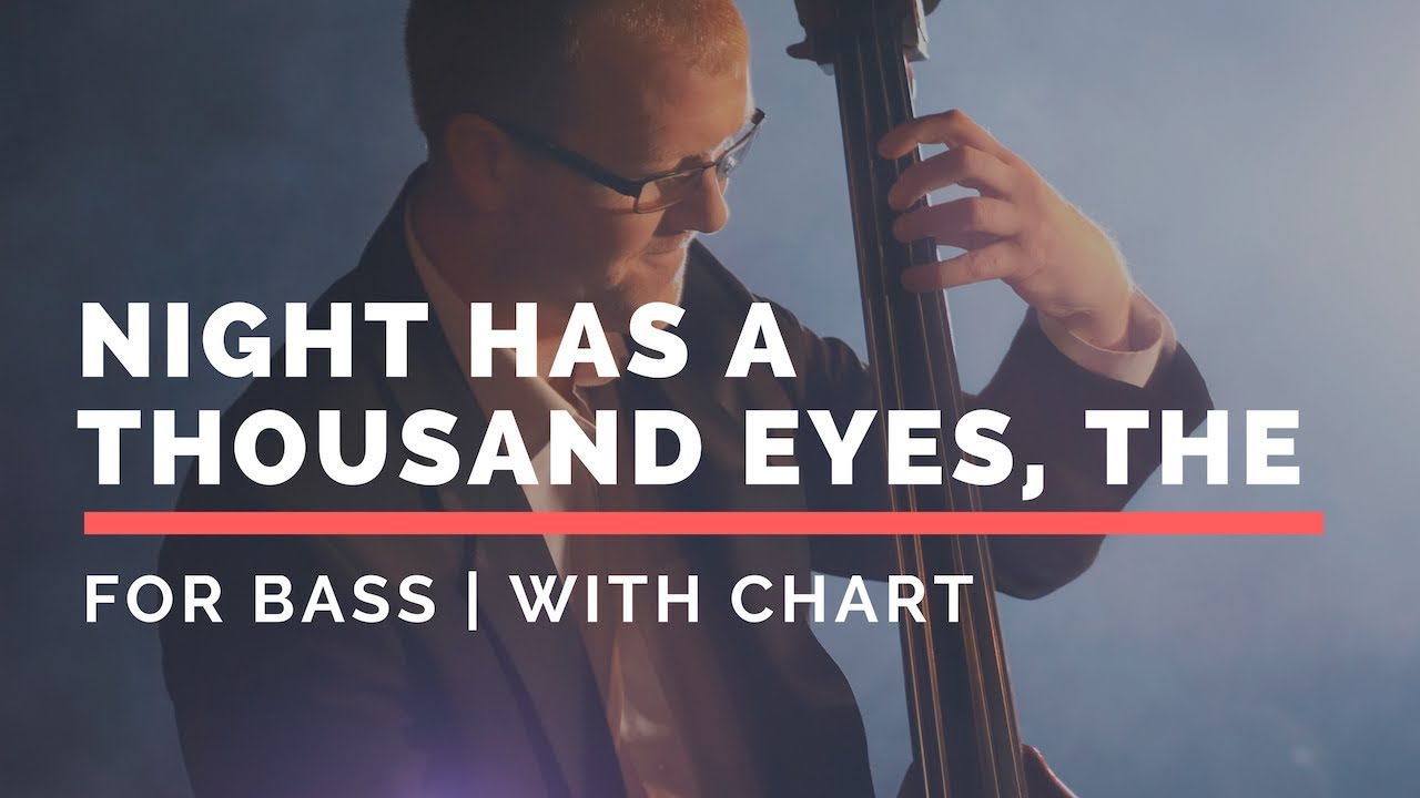 Night Has A Thousand Eyes, The Backing Track FOR BASS