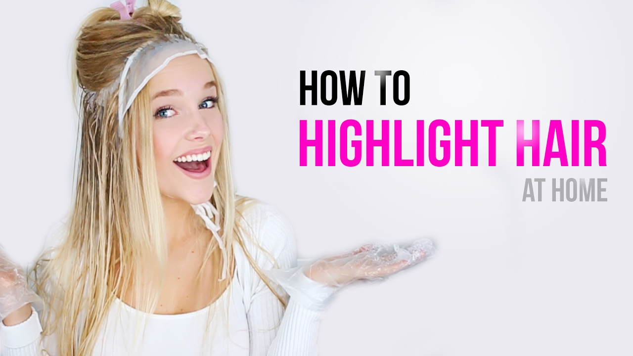 How to highlight own hair with cap the best hair 2017 diy highlights with a cap at home vinious vlogs you pmusecretfo Images