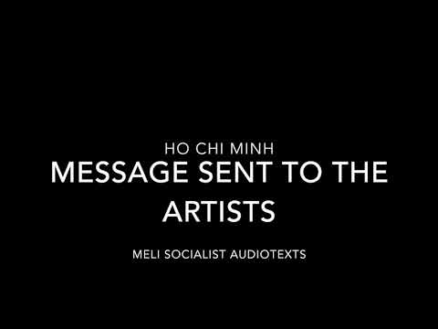 Ho Chi Minh- Message Sent To The Artists