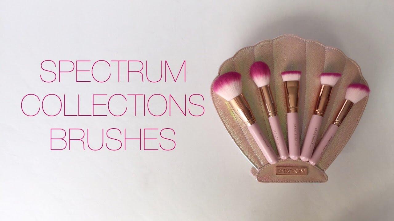 spectrum bombshell brushes. spectrum collections brushes review | la.ne bombshell t