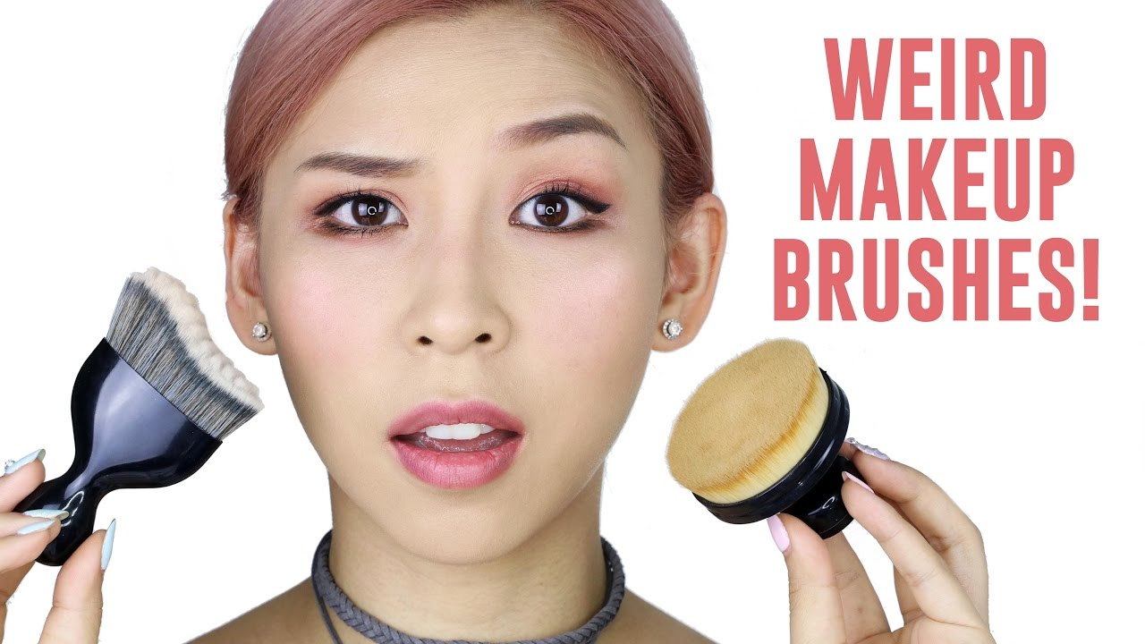 Weird Foundation Brushes – TINA TRIES IT