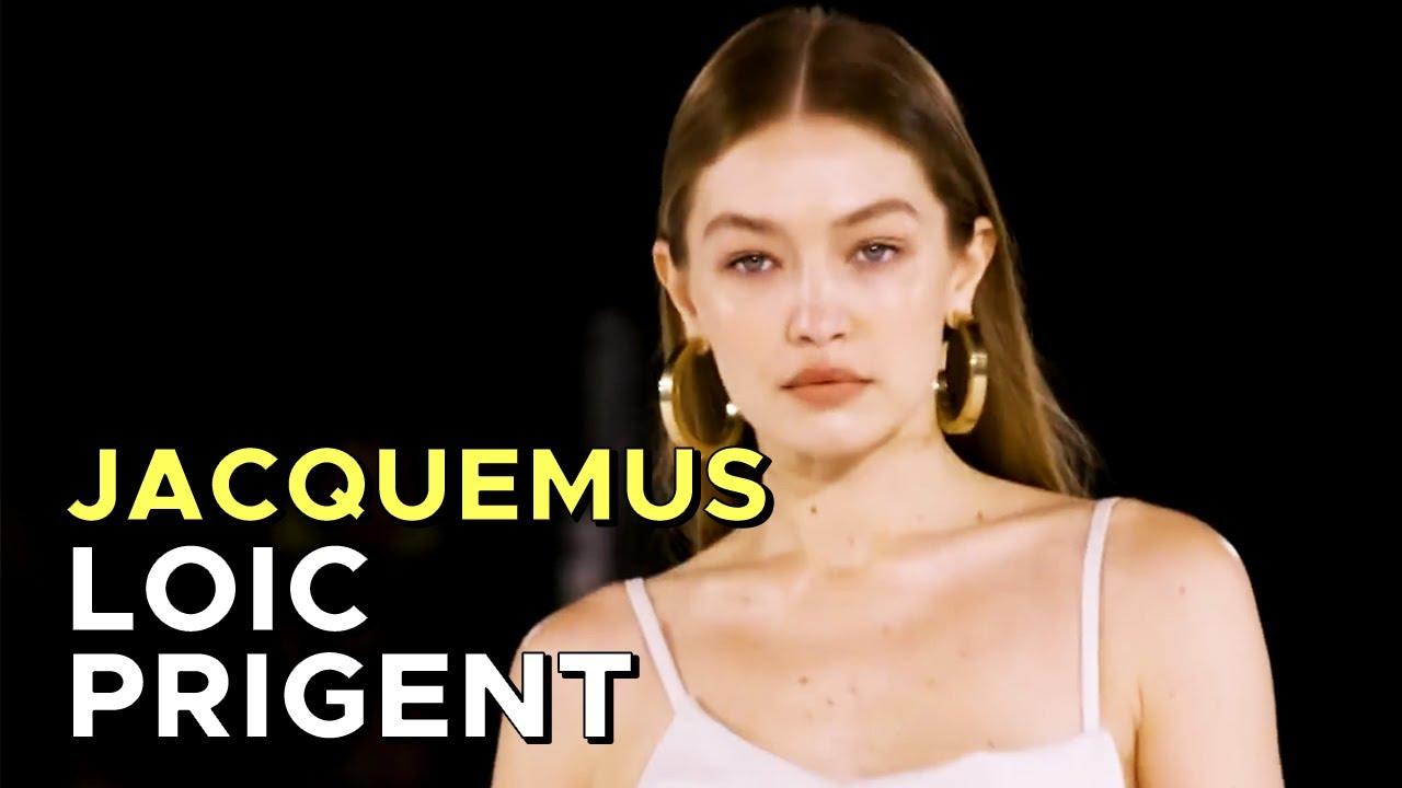 JACQUEMUS: HIS MOST EMOTIONAL SHOW! (+GIGI's HAIRFLIP!) By Loic Prigent
