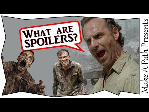 What is a SPOILER?! PLUS Channel Update Talk