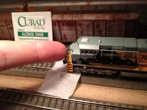 N-scale Quick Tip: Cleaning and Maintenance