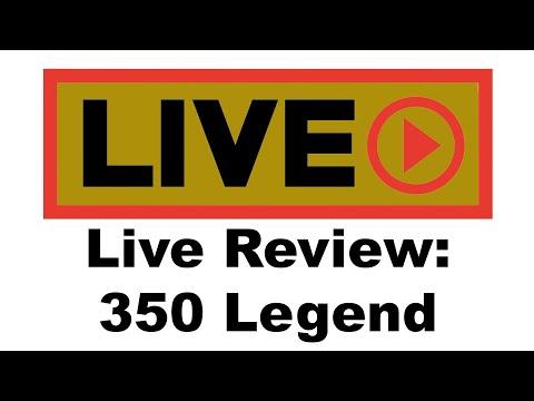 Live Review: 350 Legend