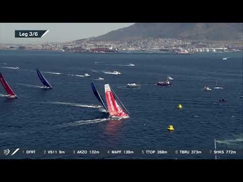 Volvo Ocean Race 2017-18: VNR: In-port Race Kapstadt