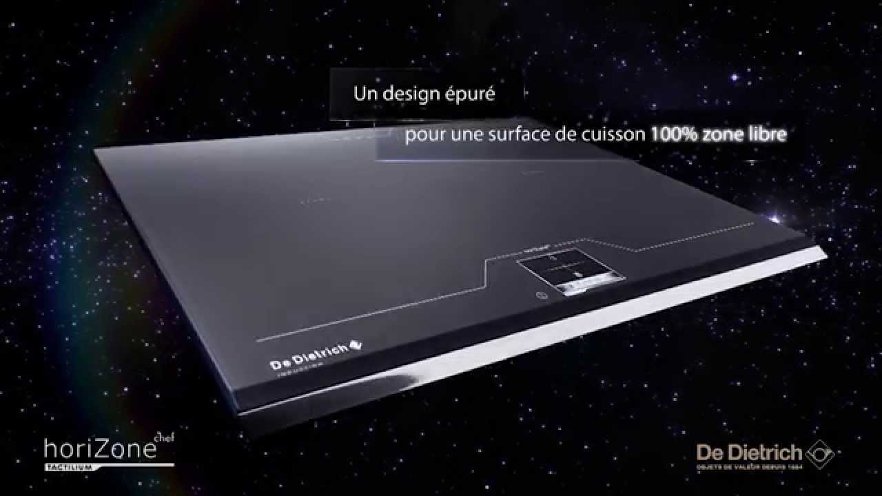 nouveauté : la table induction horizonechef tactilium - youtube