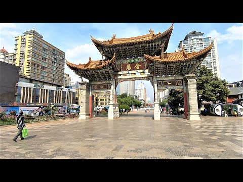 Walking in Kunming (云南昆明), China, 2019