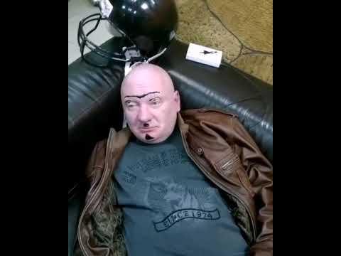 спящего мужика разукрасили прикол ржач