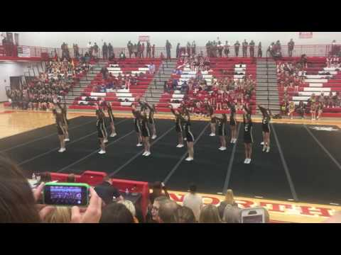 Andover Central High School-Wichita Heights Cheer Showcase 2016