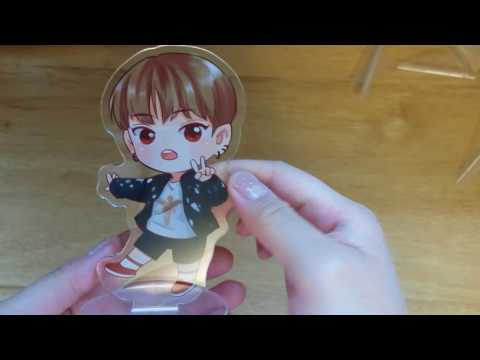 [UNBOXING] BTS 4 years Acrylic Mini Strandee
