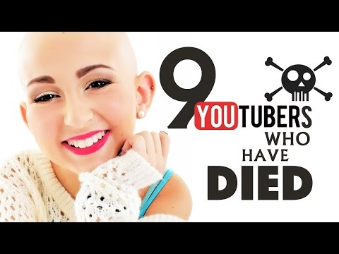 Thumbnail: 9 Dead YouTubers That Will Be Missed