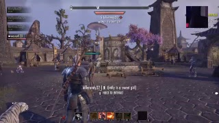 Face cam reveal !!!Eso online gameplay come chill!!!!
