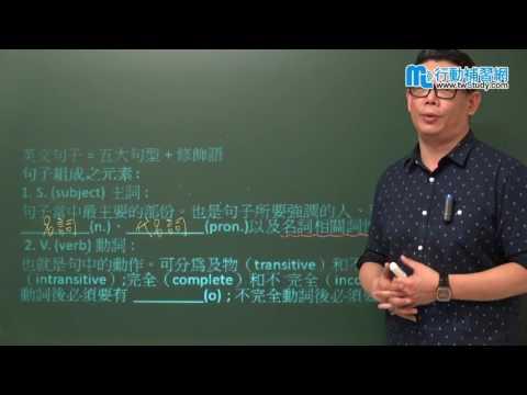 【行動補習網】《高中英文》全民英檢初級初試 – 艾倫老師