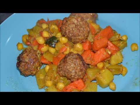 couscous-boulettes-végétariennes-au-cookeo